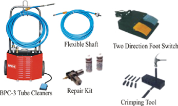 Chiller Tube Cleaning System